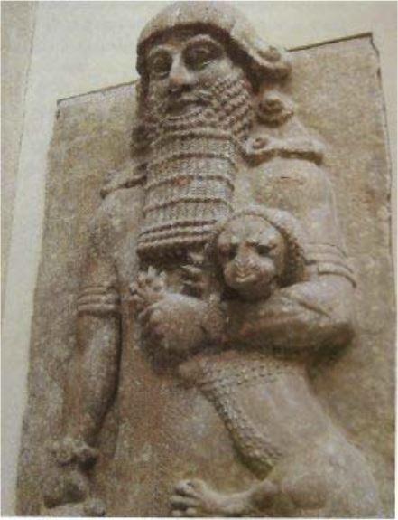 Таблички с эпосом были найдены в библиотеке царя